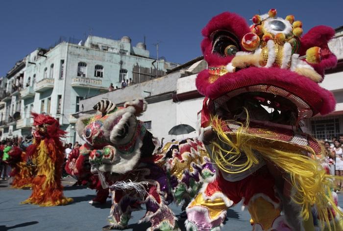 Chinese new year Cuba
