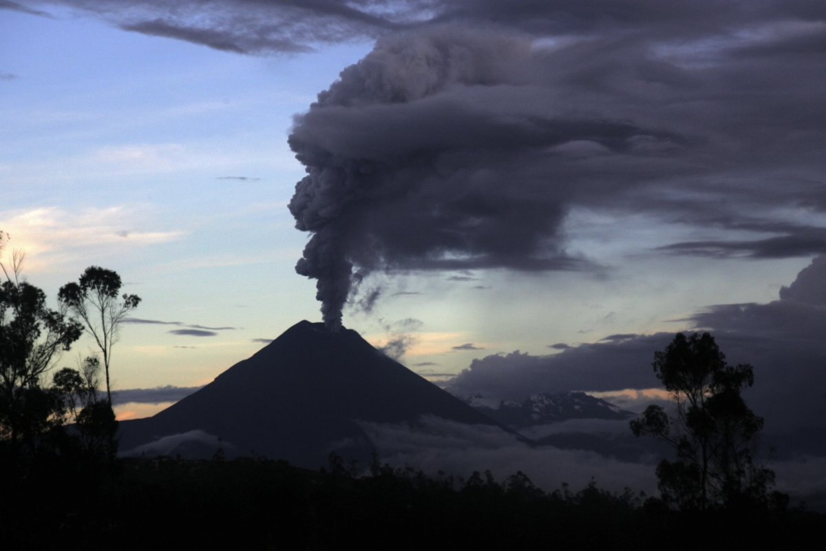 Authorities are encouraging residents living near the volcano to evacuate due to increased activity of the volcano, according to local media.