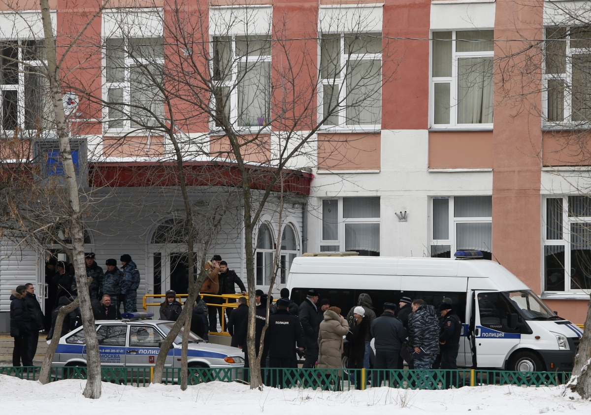Moscow school shooting