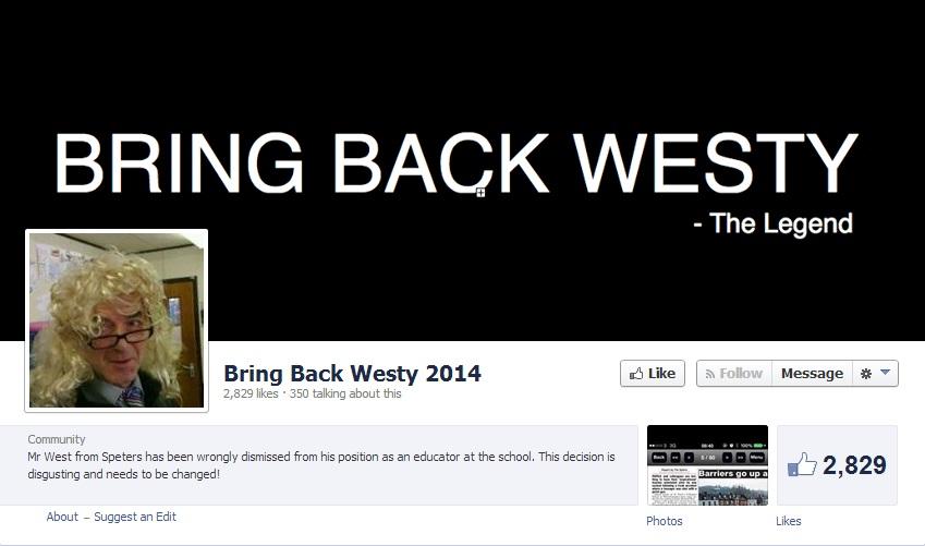 Richard West Facebook