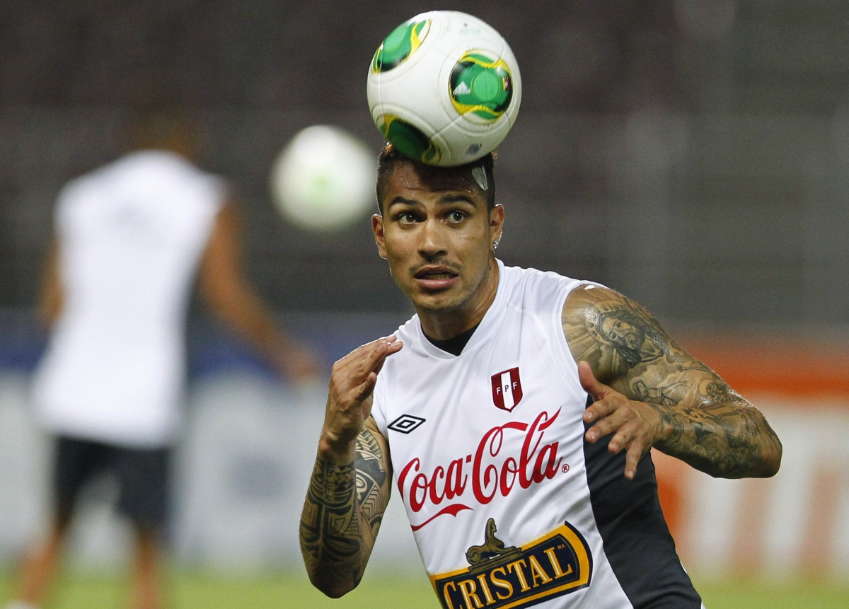 Brazil World Cup security fears after fans invade Corinthians training ground and roughed up Paolo Guerrero