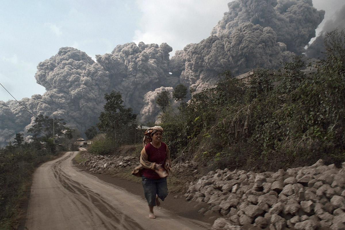 volcano sinabung