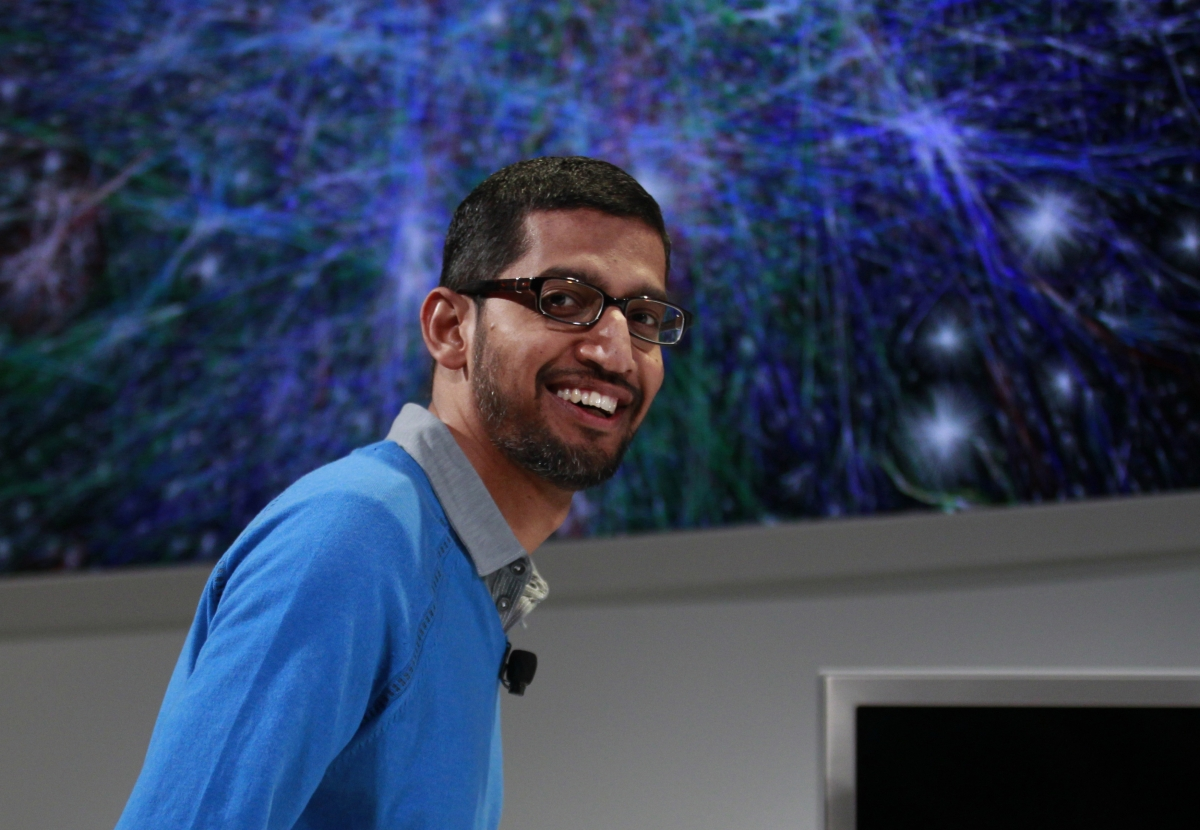 Google's Sundar Pichai joins Microsoft CEO race