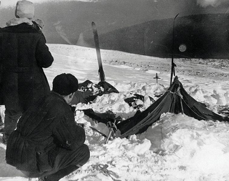 Dyatlov pass mystery tent discovered