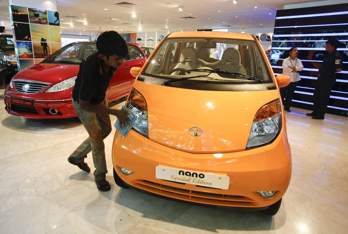Tata Nano Tata Motors Showroom Mumbai India