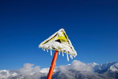 sign snow