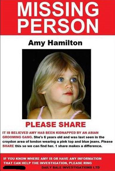 Missing Amy Hamilton