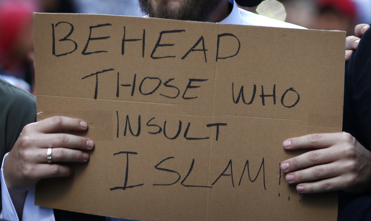 Blood curdling - yet ridiculous, threats have been issued over prophet Mohammed cartoons