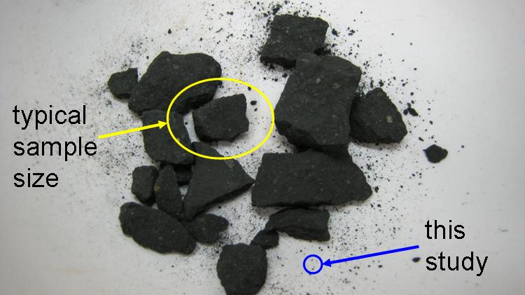 NASA scientists have found life-giving molecules in the Murchison Meteorite