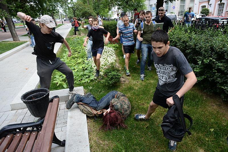 LGBT activists Russia