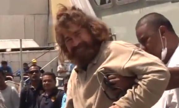 José Salvador Alvarenga back on terra firma after long ordeal alone at sea