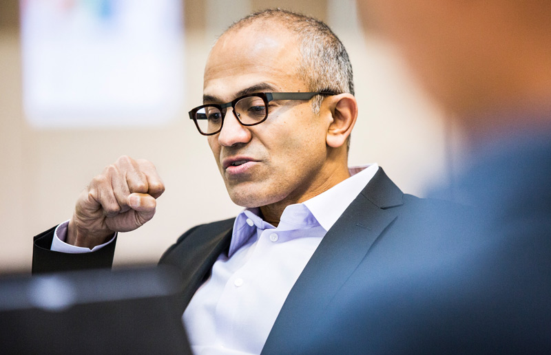 Satya Nadella Announced as Microsoft's New CEO