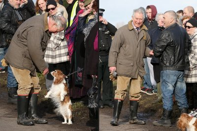 charles meets locals