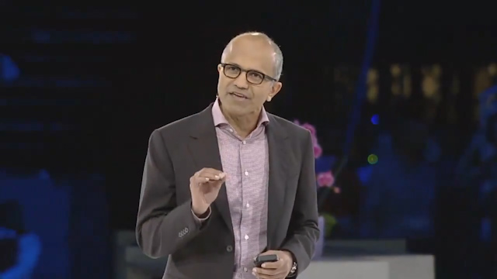 Satya Nadella Announced as Microsoft's New CEO