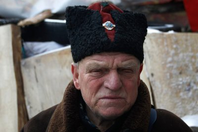 elderly cossack