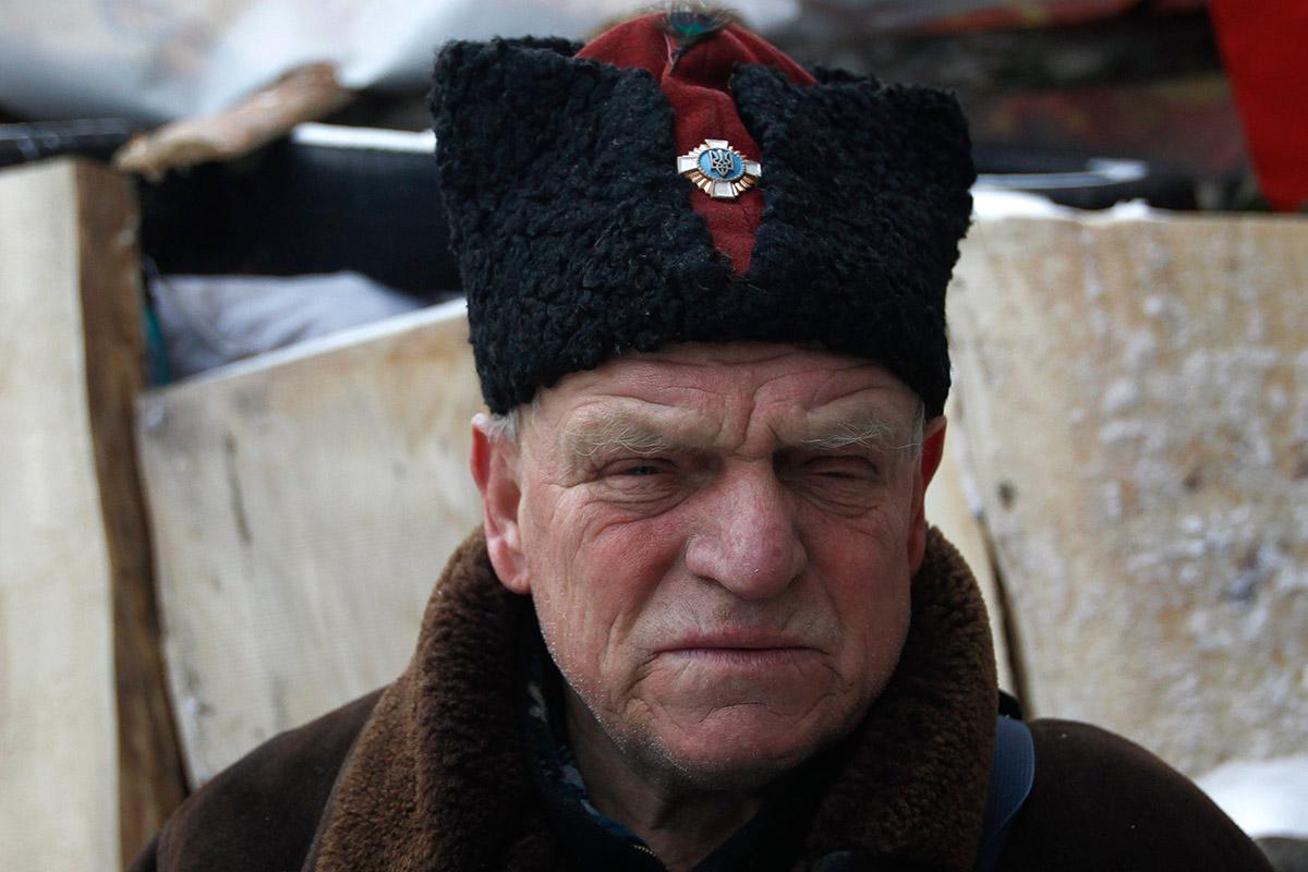 elderly cossack
