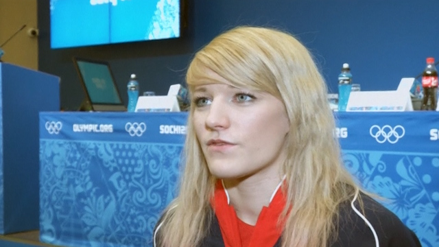 Elise Christie Reveals Plans for Olympics in Sochi