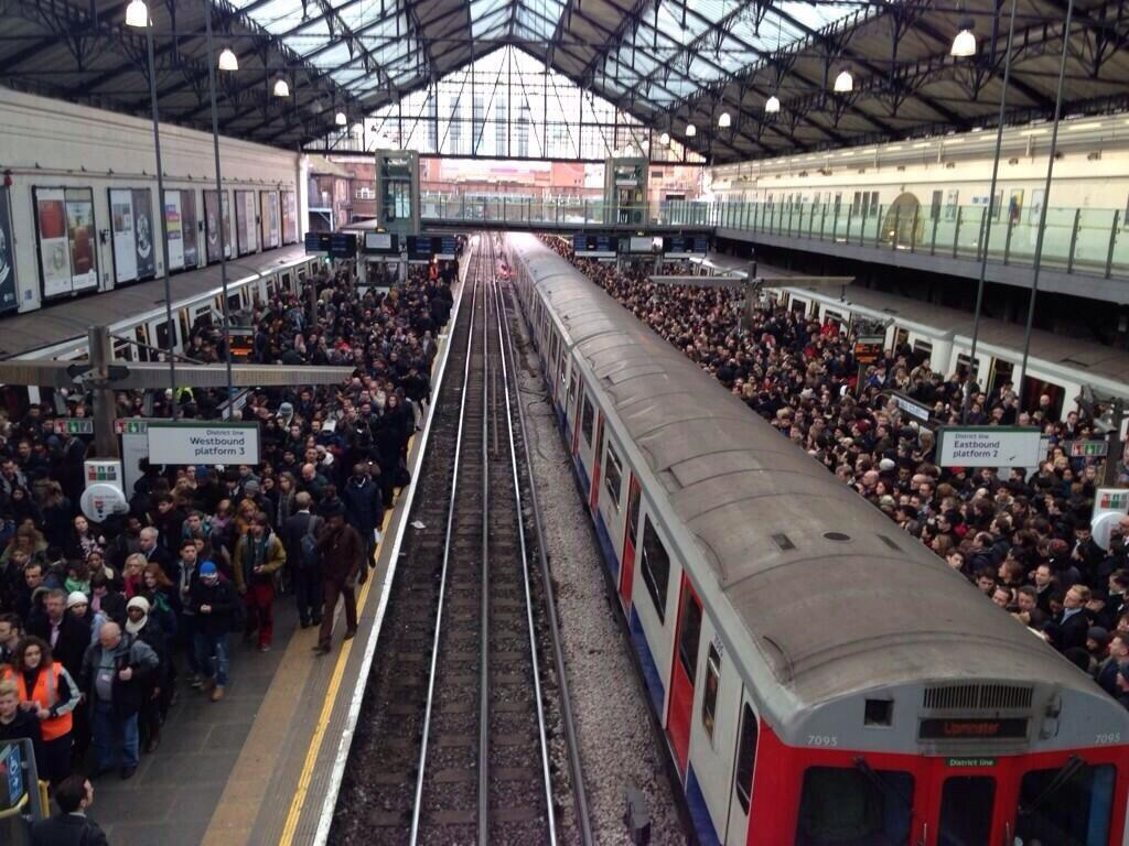 london tube strike EC