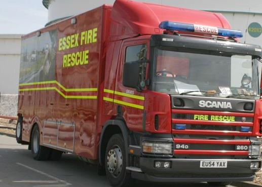 Gas explosion rips through home at Cloes Lane in Clacton, Essex