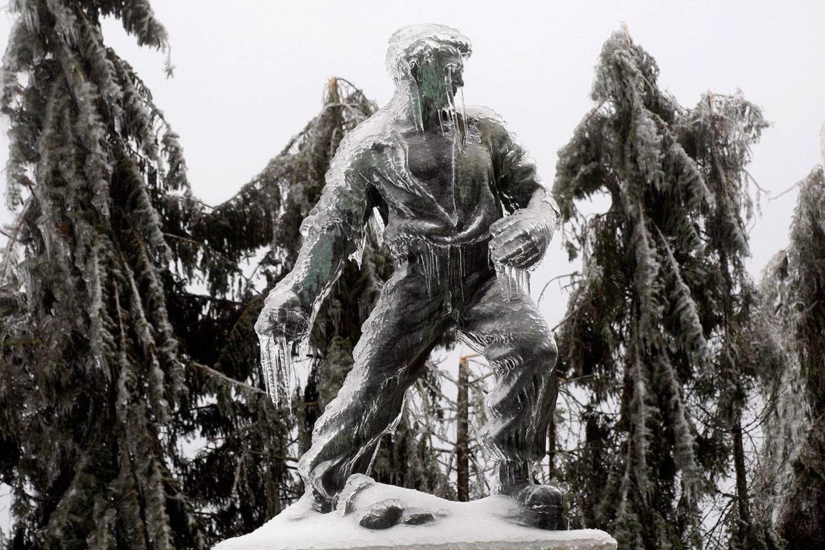 slovenia statue