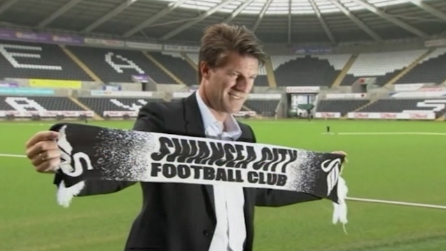Swansea Sack Manager Laudrup after League Slump