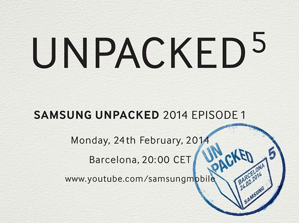 Samsung Unpacked 5 event Livestream