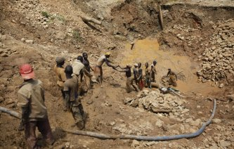 Gold Mining in DRC