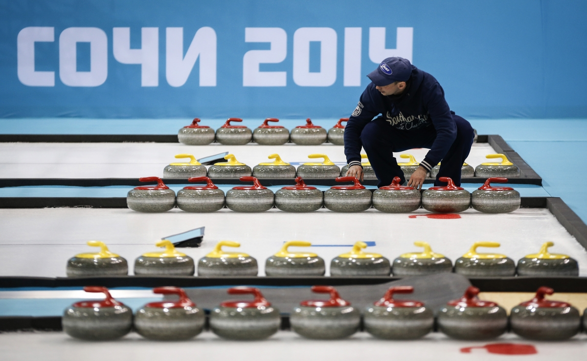 Sochi curling
