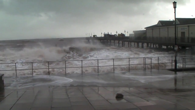 Cameron Pledges More Aid as Storms Batter Coastline