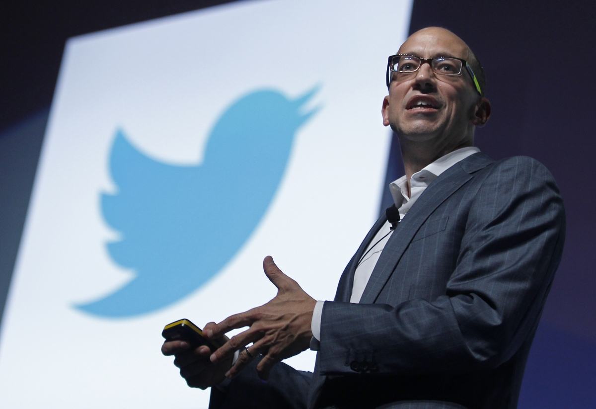 Twitter CEO Dick Costolo laughs off resignation