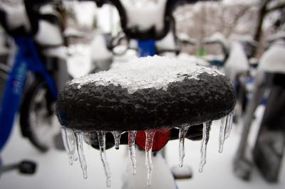 bike icicles