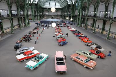 paris vintage cars