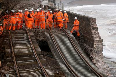 Dawlish rail