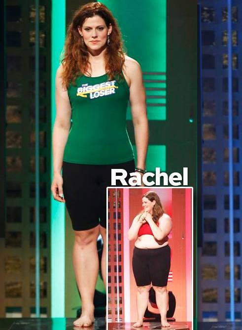 Rachel Frederickson wins The Biggest Loser