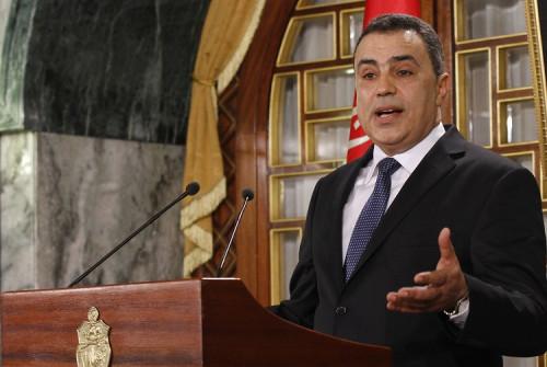 Tunisia's Prime Minister Mehdi Jomaa