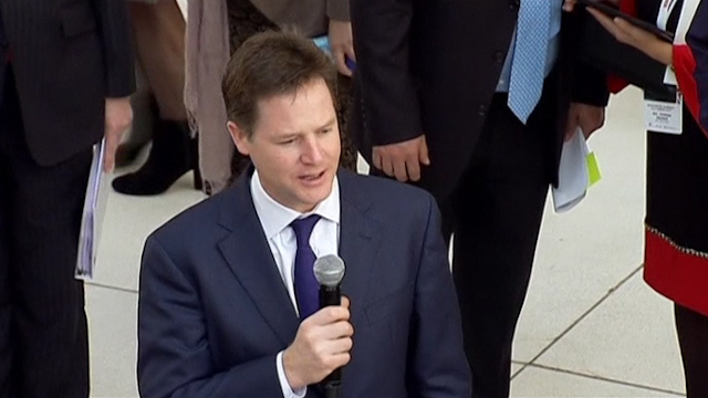 Clegg: UK Firms Fancy Mexico Despite Drug Violence
