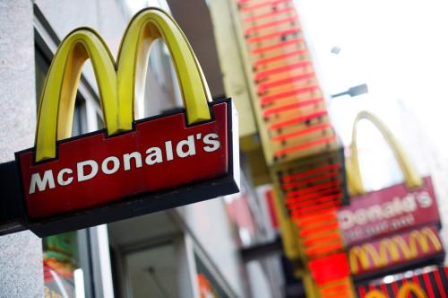 McDonald's Sign US