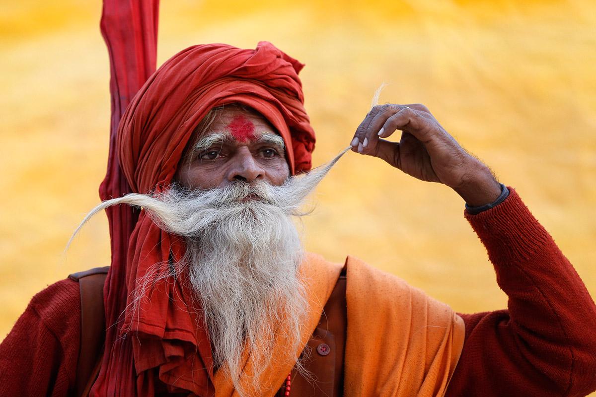 sadhu moustache