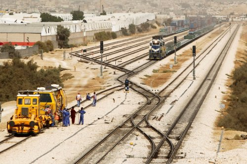 Railroad Riyadh Saudi Arabia