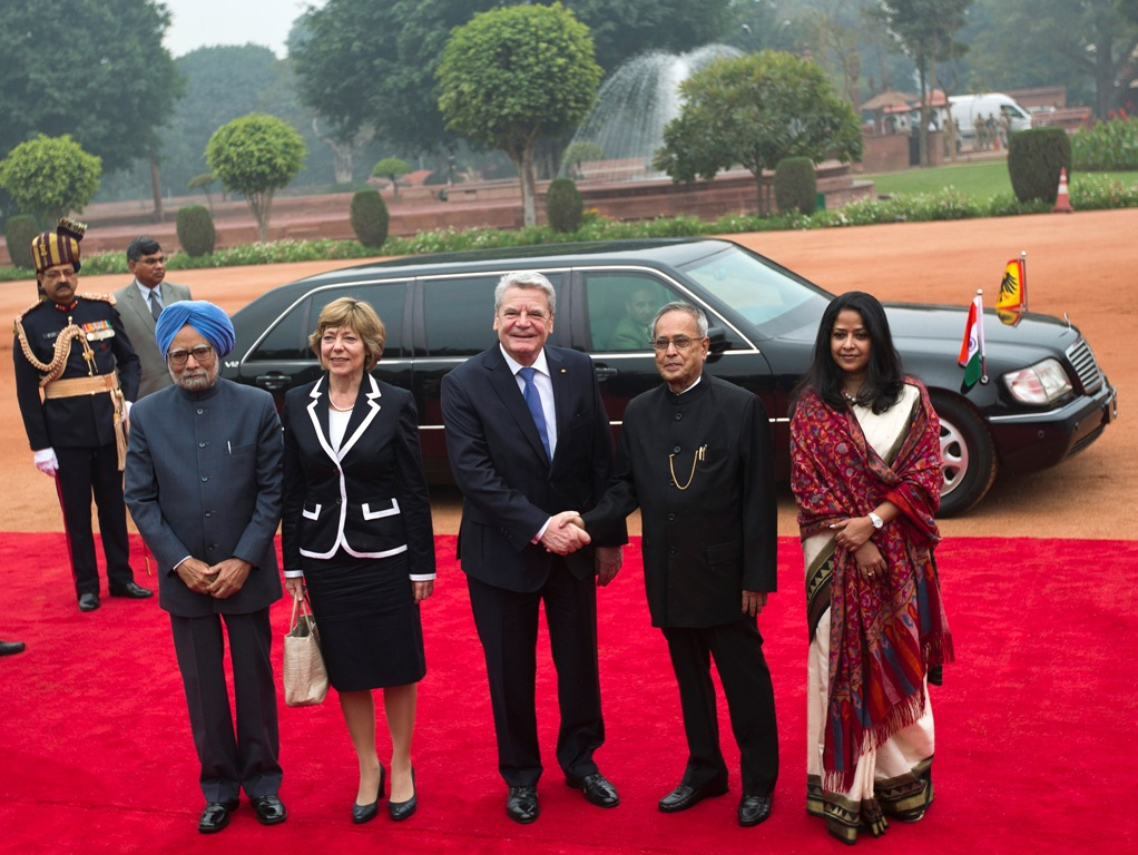 German President Joachim Gauck in India