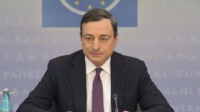 ECB Leaves Interest Rates Unchanged