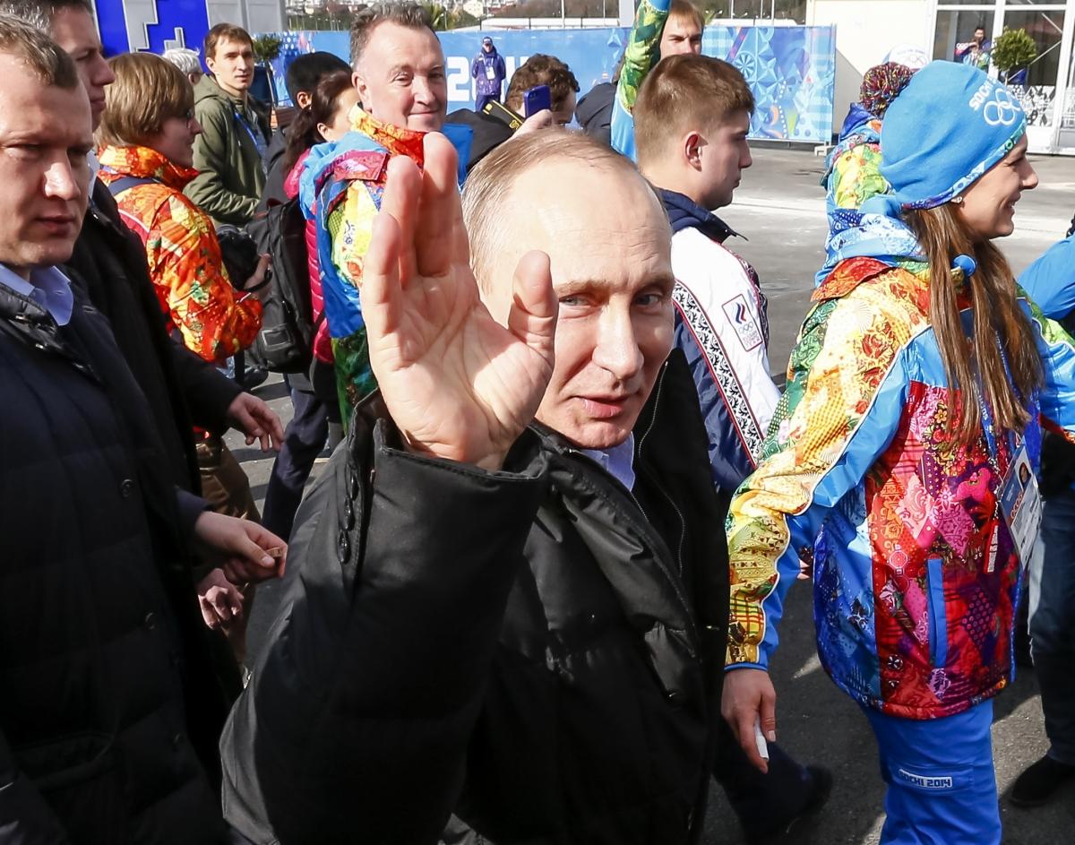 Putin Sochi