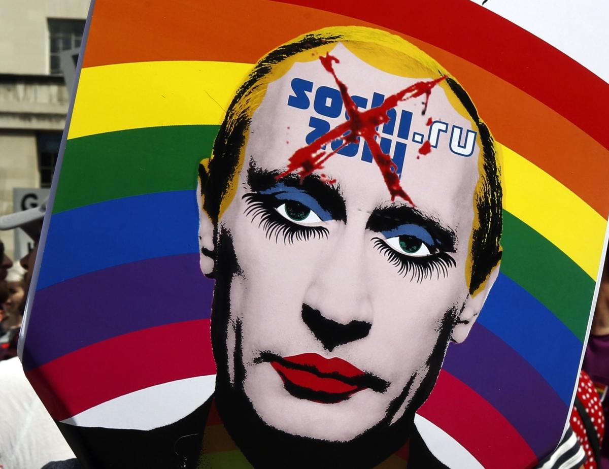 Putin Gay Sochi