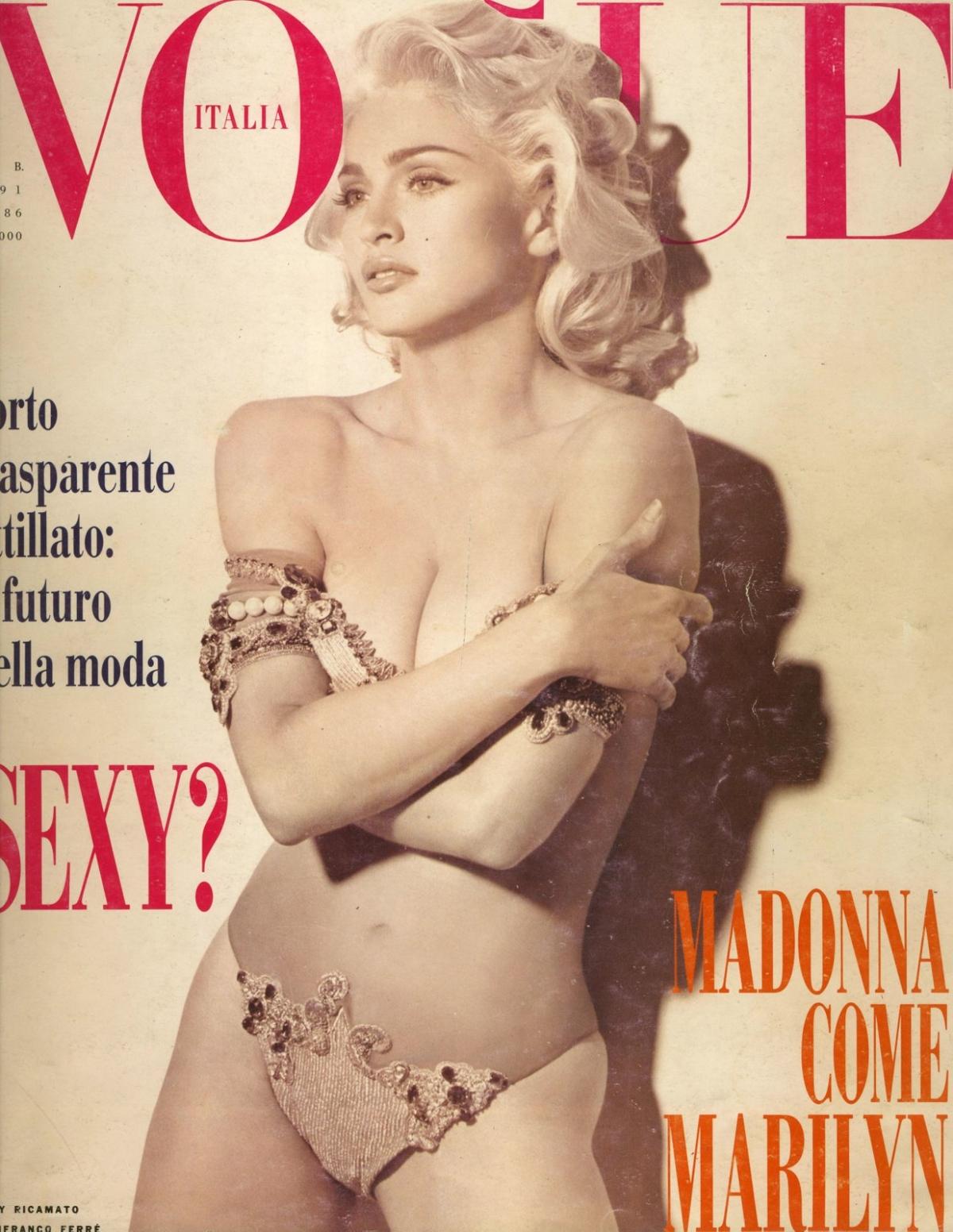 Madonna Vogue Cover