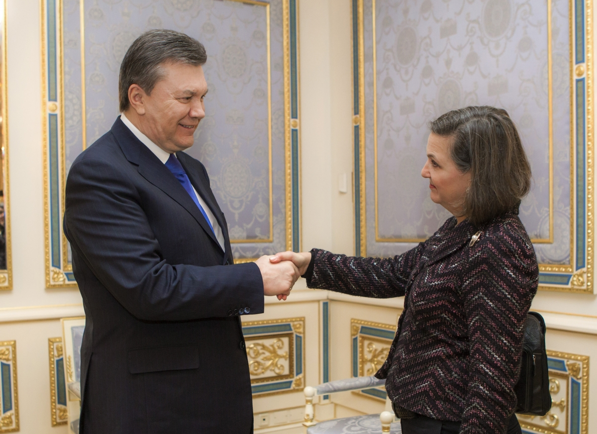 Ukraine protests and Victoria Nuland's jibe