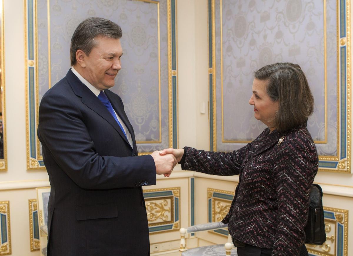 Ukraine protests and Victoria Nuland's jibe