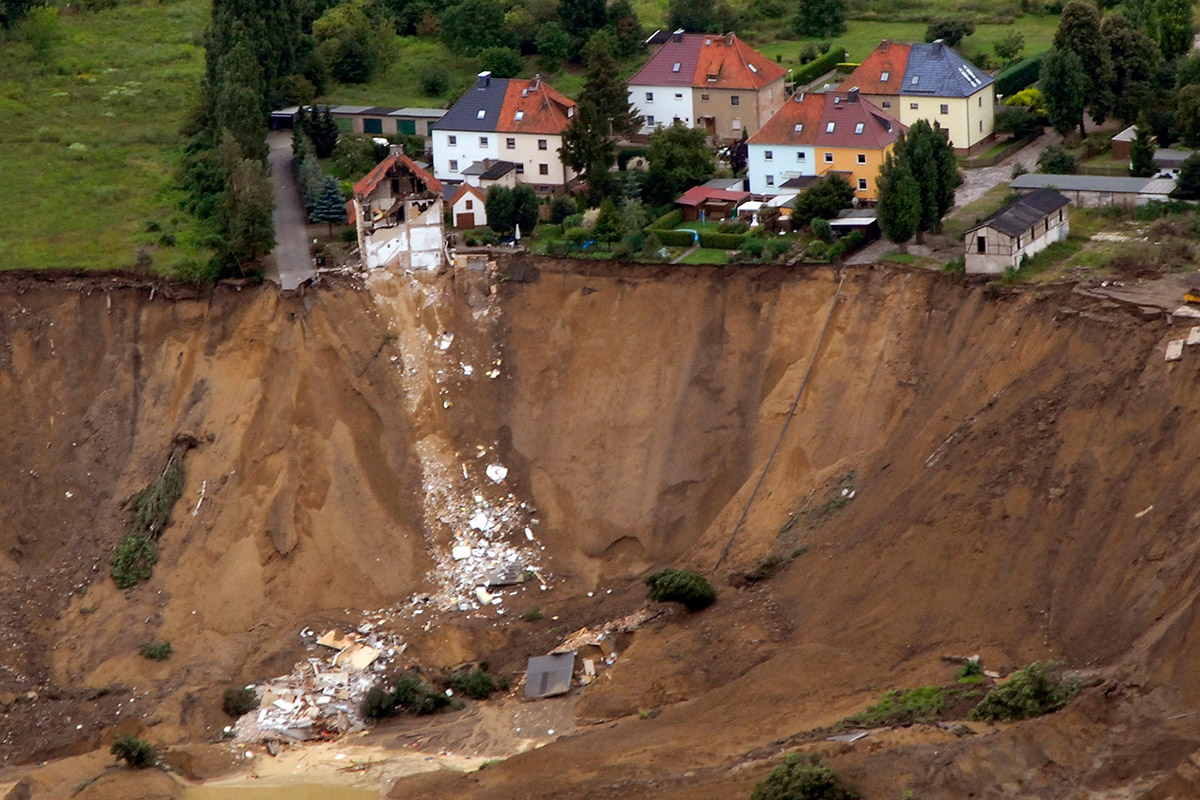 landslide germany