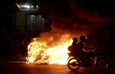 Rio de Janeiro protest