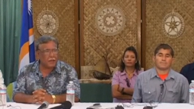 Castaway Thanks the Marshall Islands for Helping Him