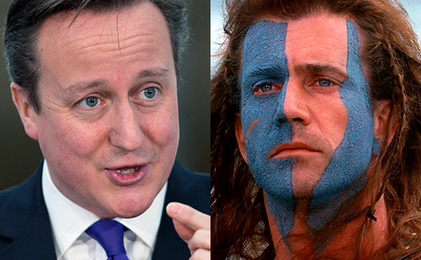 David Cameron Braveheart